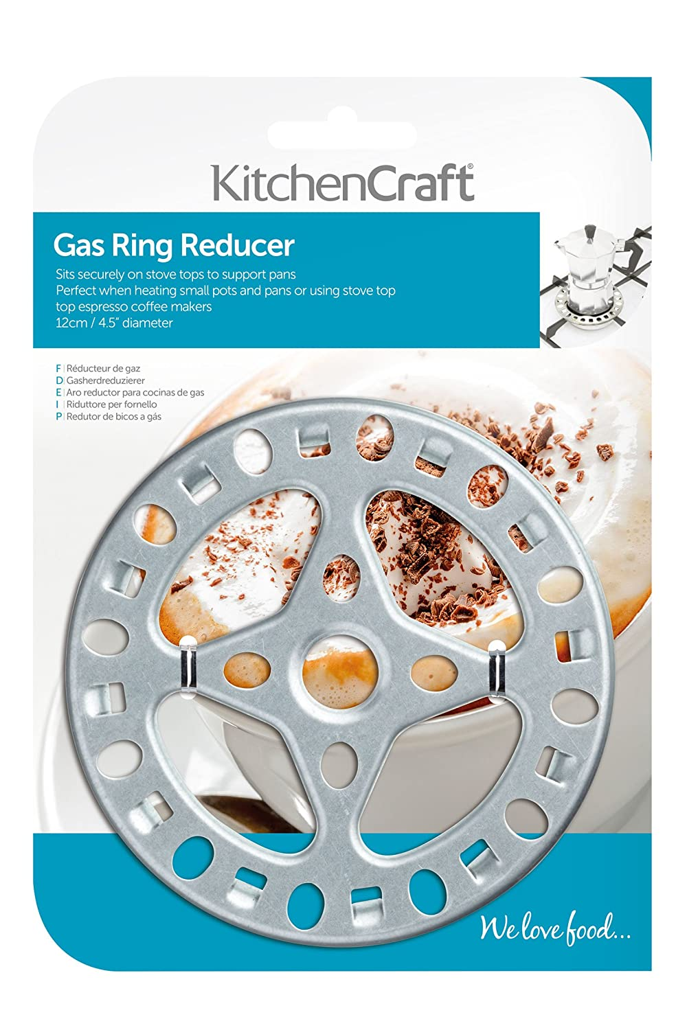 Amazon.com: Gas Reducer Ring For Small Pans: Cookware Accessories: Kitchen & Dining