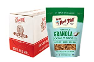 Bob's Red Mill Homestyle Coconut Spice Granola, 11 Oz (Pack Of 6)