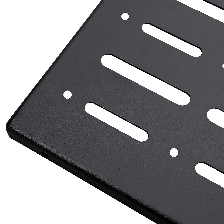 Haitzu Tailgate Table Support up to 80lb Fit for Jeep Wrangler JK 2//4 door Aluminum Alloy Matte Black