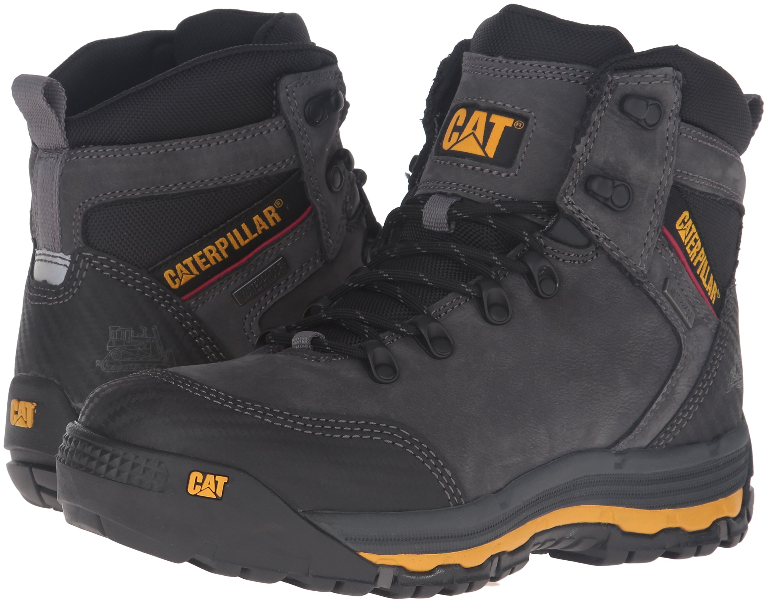 Caterpillar Men's Munising 6'' Waterproof Industrial and Construction Shoe, Dark Shadow, 13 M US by Caterpillar (Image #6)