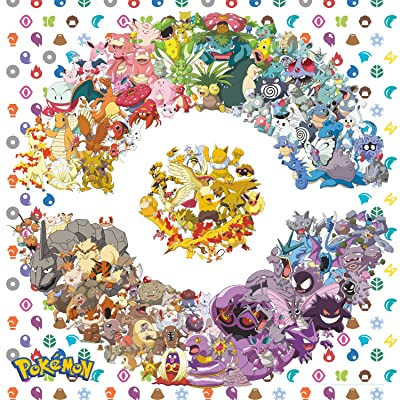 Buffalo Games - Pokémon - Kanto Edition - 300 Large Piece Jigsaw Puzzle: Toys & Games