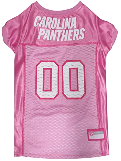 Amazon.com   NFL Carolina Panthers Dog Jersey Pink f92360d50