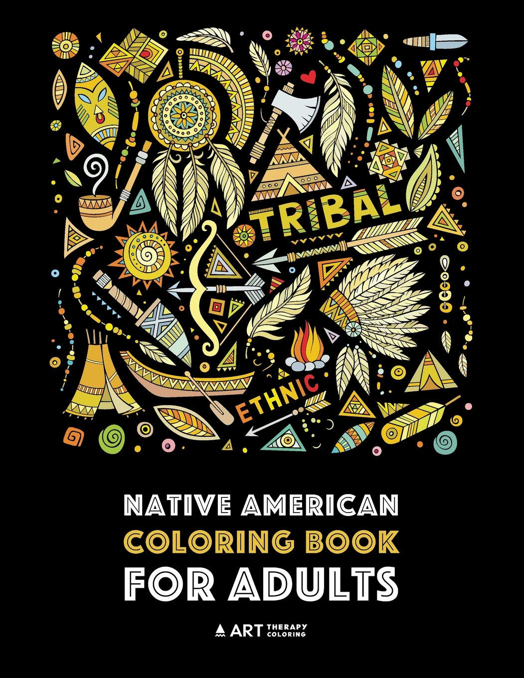- Native American Coloring Book For Adults: Artwork & Designs