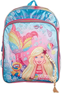 Accessory Innovations Mermaid Barbie Backpack for Girls with Side Mesh  Pockets 261cf9cc05aa4
