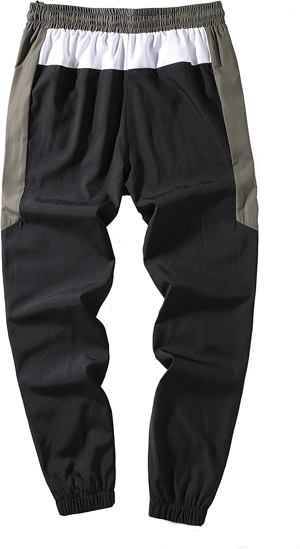 Haizhe Pantalon Para Hombre Casual Jogging Pantalones Deportivos De Corte Slim Largos Con Bolsillos Y Cintura Con Cordon Pantalones Deportivos
