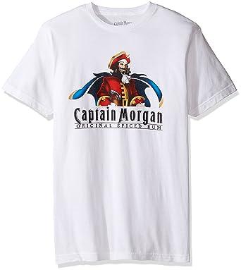 Captain Morgan Men s T-Shirt  Amazon.co.uk  Clothing 63179f282