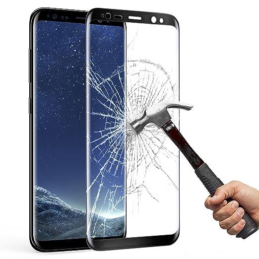 64 opinioni per Samsung Galaxy S8 Pellicola Protettiva, Mture HD Cristallo Film Completo Schermo