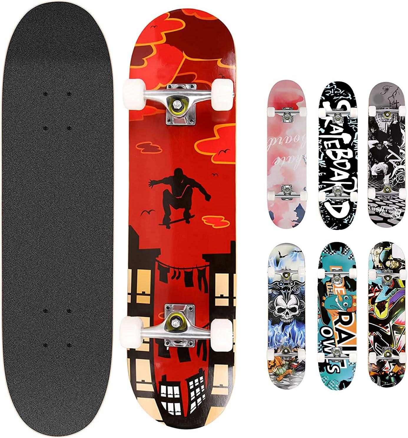 Choose Color or Design Surf and Skate Warehouse Skateboard Complete