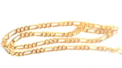df4f163f6cc J S Imitation Jewellery Gold Plated Golden Chain for Women: LOOKS ...