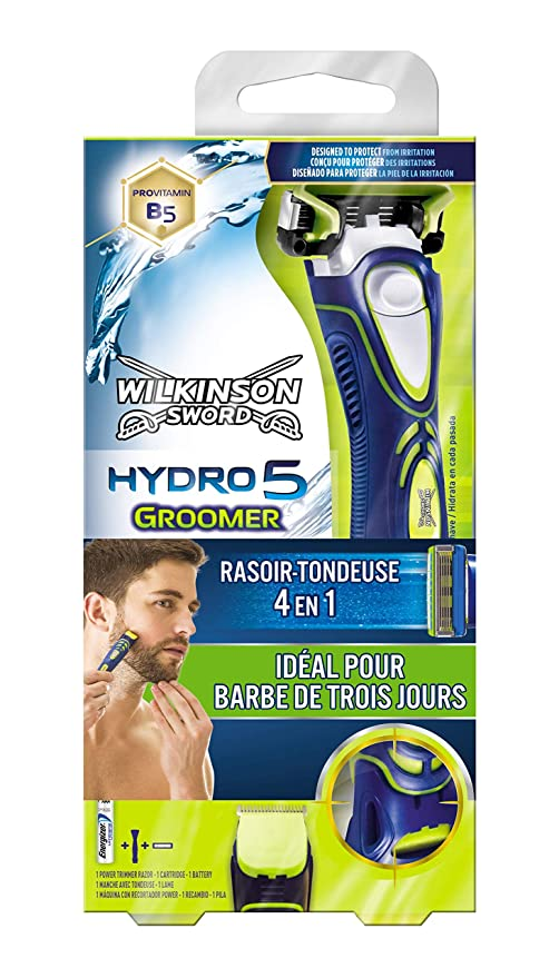 Wilkinson 70003960 - Maquinilla De Afeitar Hydro 5 Groomer Sword ... 4e9339096470