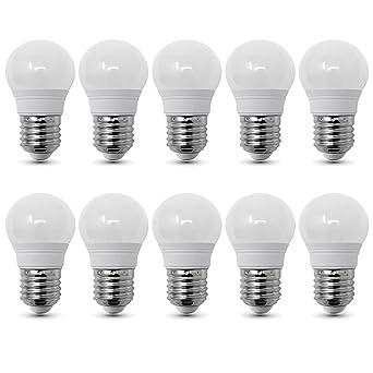 Conjunto de 10 - ZONE LED SET - E27-3W - Bombilla LED, G45