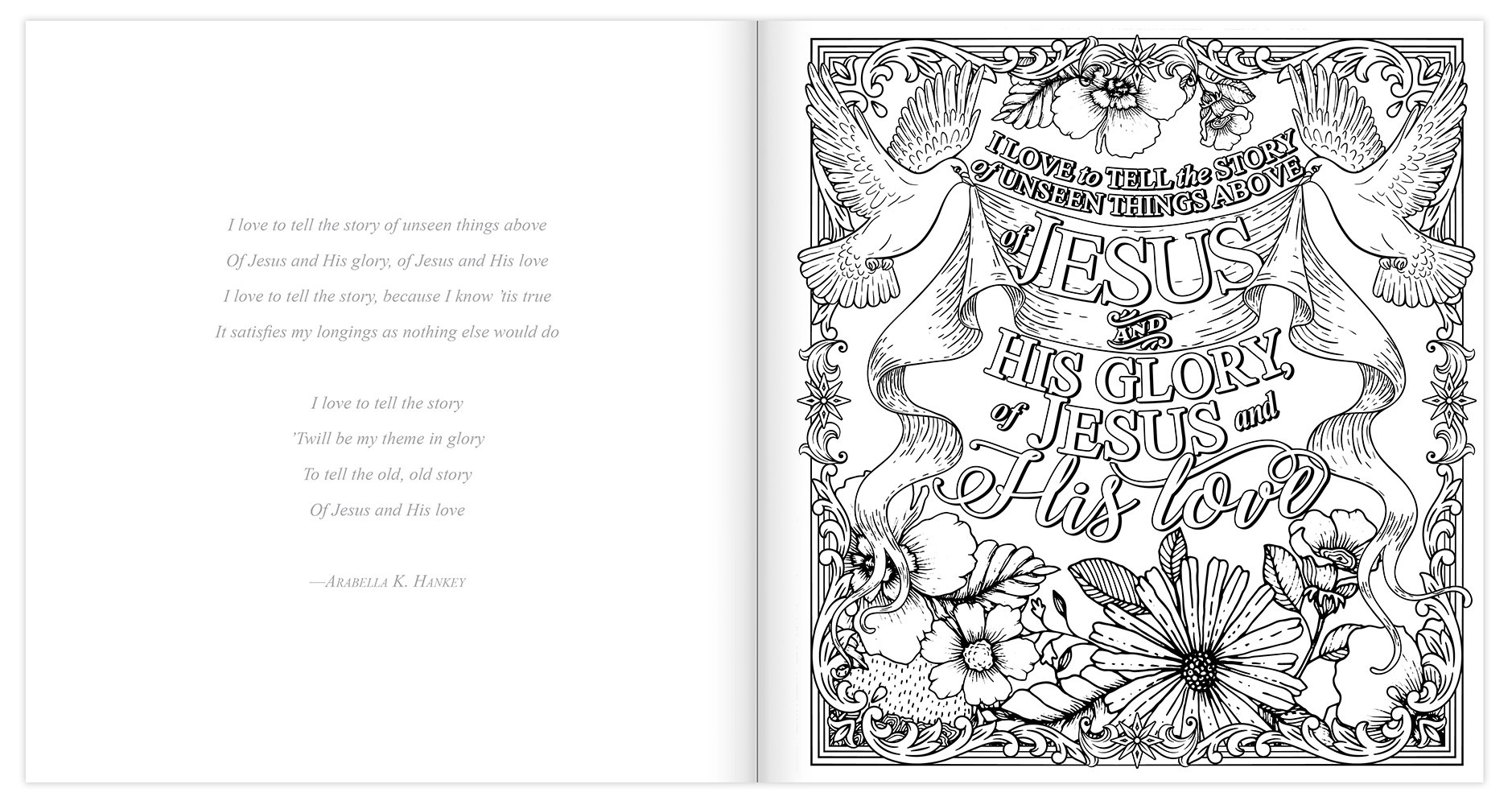 amazon com how great thou art coloring book coloring pages