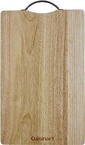 Cuisinart CWB-15R Rubberwood Cutting Board, One Size, Brown