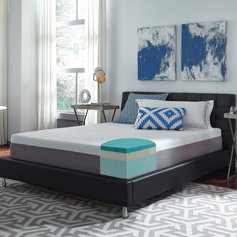 Slumber Solutions Choose Your Comfort 12-inch Twin-Size Gel Memory Foam Mattress Plush Soft Plush
