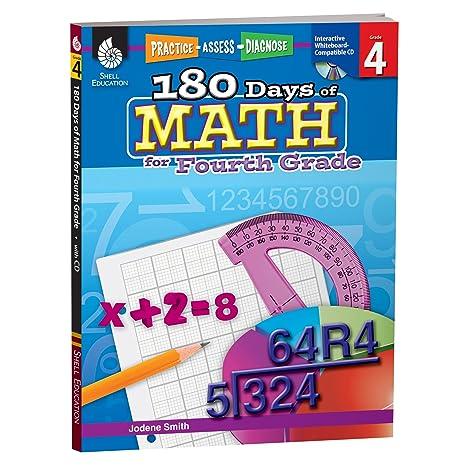 Amazon.com: 180 Days of Math for Fourth Grade – 4th Grade Problem ...