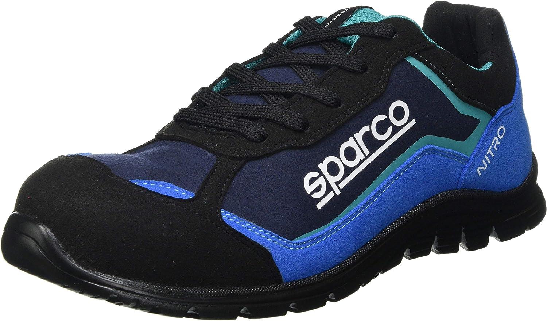 Sparco - Zapatillas Nitro S3 Black/Azul talla 42