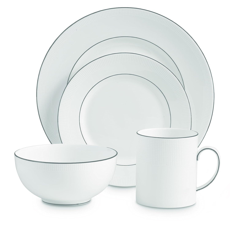 Vera Wang by Wedgwood Blanc Sur Blanc 13.75-Inch Oval Platter 5010833001