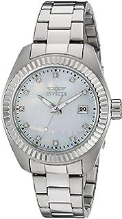 Invicta damen armbanduhr xs chronograph quarz edelstahl 4718