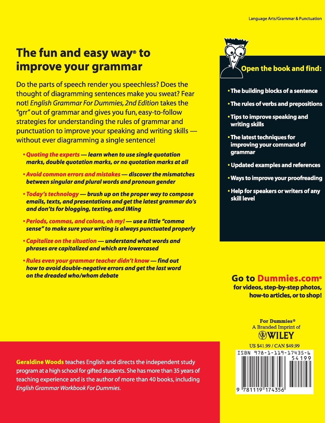 Buy English Grammar for Dummies Book Online at Low Prices in India | English  Grammar for Dummies Reviews & Ratings - Amazon.in