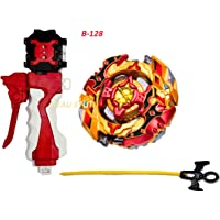 BEAU STUTI Cho-Z Layer System Beyblade Burst Turbo B-128 Super Z Remodeling Set Turbo Spryzen S4 0Wall Zeta Cho-Z Spriggan 0Wall Zeta with Burst Launcher LR and Power Launcher Grip with Power Trigger