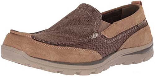 1616fbfff491 Skechers Men s Relaxed Fit-Superior-Milford Loafer Light Brown 15 XW ...