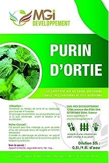mgi developpement estiércol líquido de ortiga, 5 l, 100% natural, abono fabricado