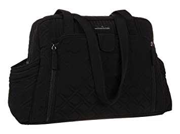 39ccdb997676 Amazon.com   Vera Bradley Make a Change Baby Bag - Classic Black   Baby