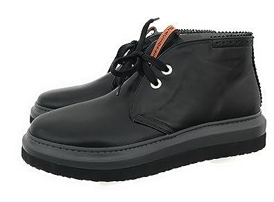 Cesare Paciotti 4us, Herren Sneaker Schwarz schwarz, Schwarz