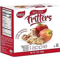 Katz Gluten Free Apple Fritters | Dairy Free, Nut Free, Soy Free, Gluten Free | Kosher (1 Pack, 7 Ounce)