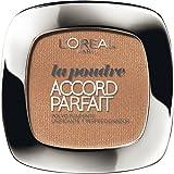 L'Oreal Paris Accord Perfect Polvo Compacto, Tono: Miel D6
