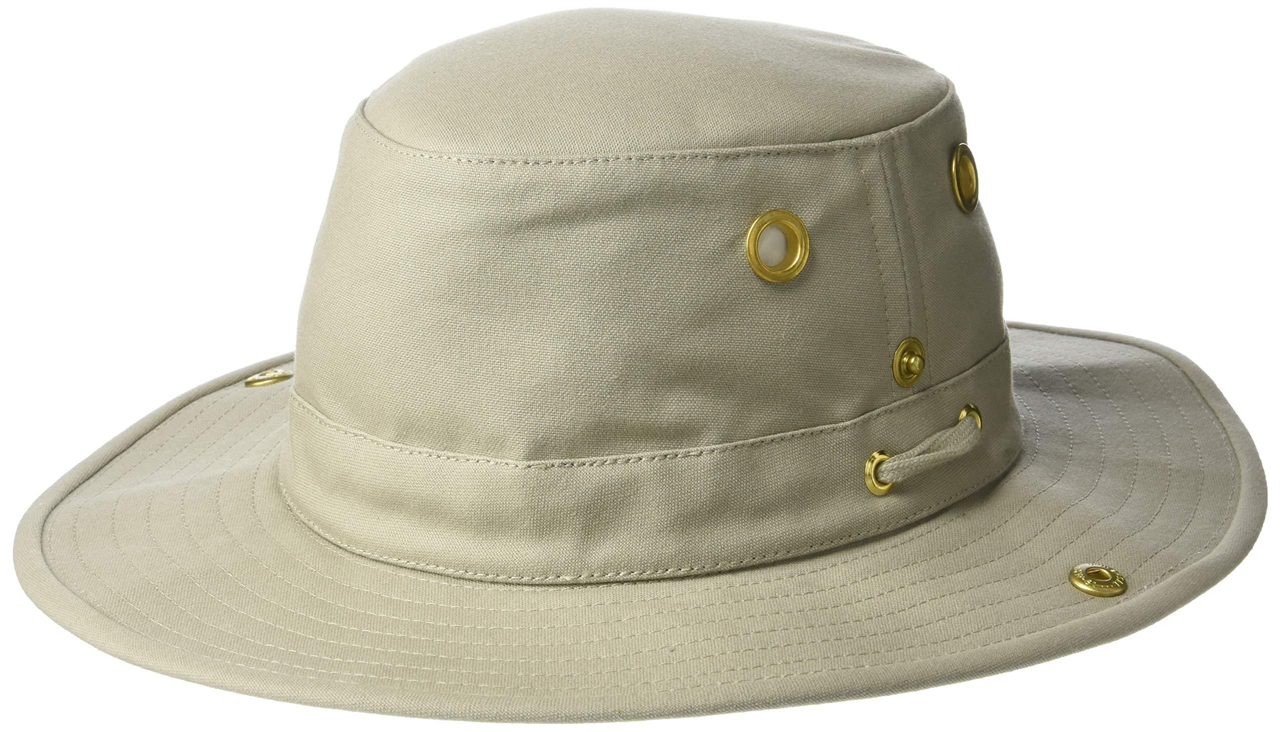 Tilley Endurables T3 Traditional Canvas Hat,Khaki,7 1/2