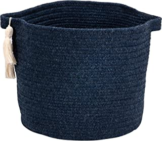 "product image for Colonial Mills Andorra Basket, 16""x16""x16"", Navy"