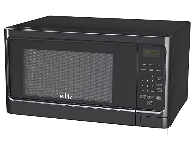 Willz WLCMS311BK-10 1.1 cu ft Black Microwave