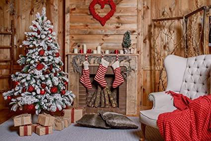 kate 7ftwx5fth christmas backdrop decorations microfiber christmas fireplace photography