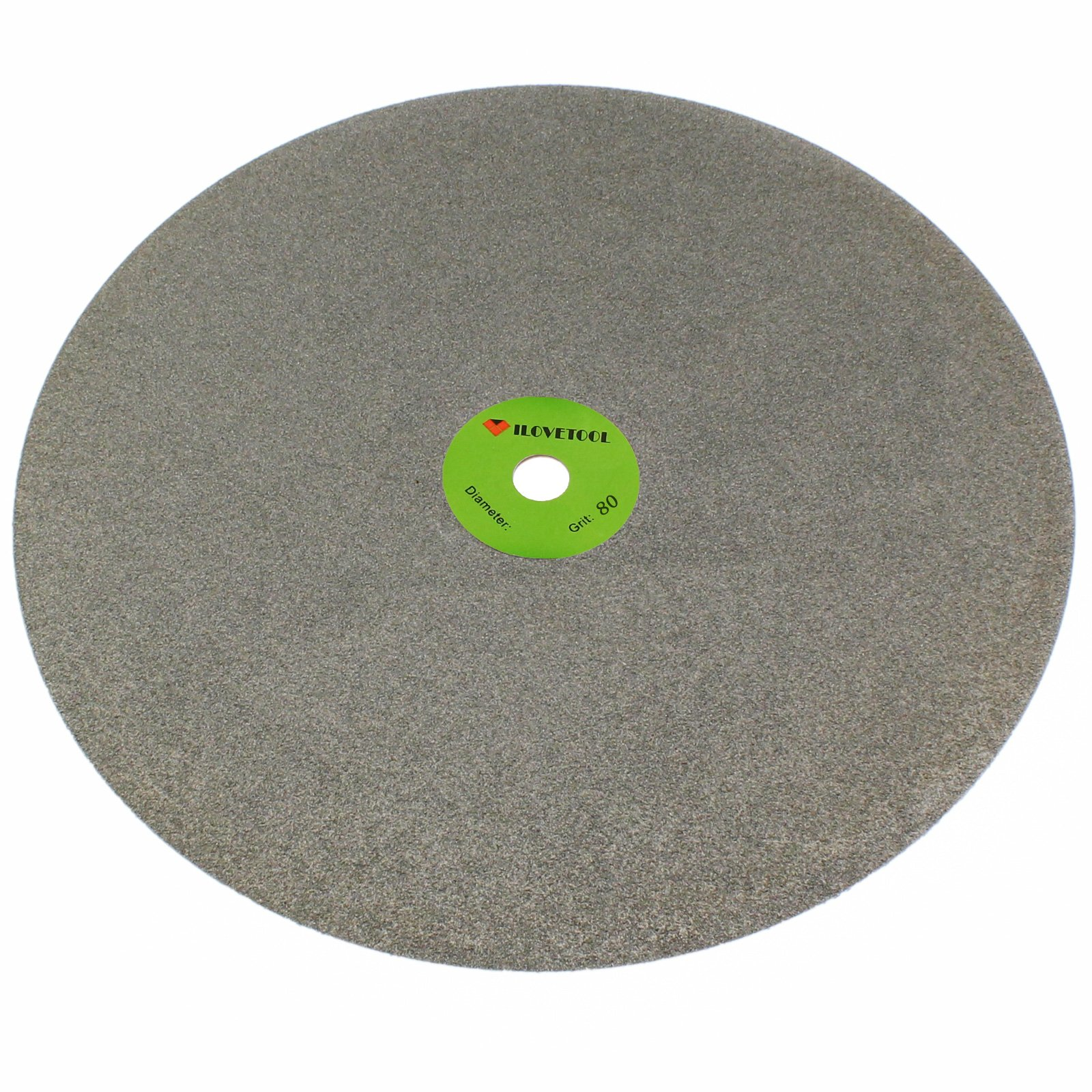 ILOVETOOL 20 inch 100 Grit Diamond Coated Flat Lap Disk Grinding Polishing Wheel