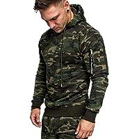Amaci&Sons Heren Cargo-Style Pullover Sweatshirt Hoodie Sweater Camouflage 4003
