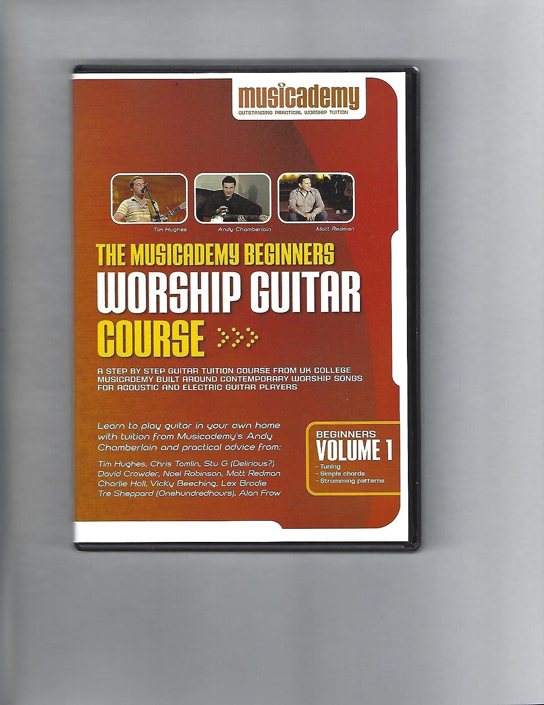 Amazon The Musicademy Beginners Worship Guitar Course Volume 1