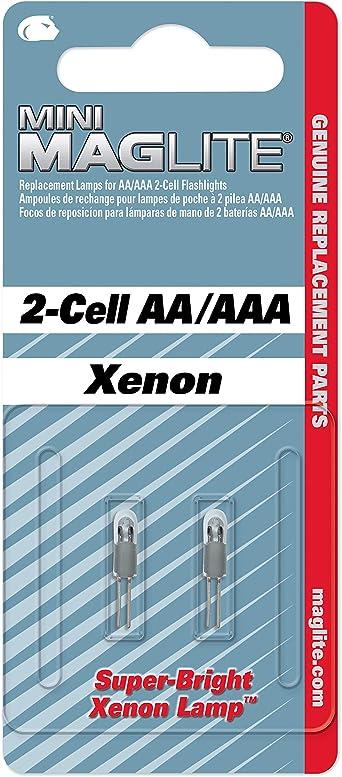 Mag Lite Lm2a001 Xenon Ersatzleuchtmittel Für Maglite Aa Beleuchtung