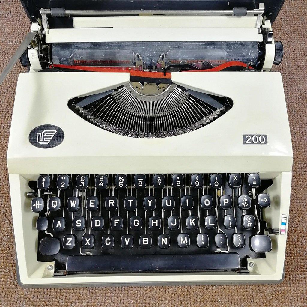 Máquina de escribir años 80 Retro Vintage Vintage Typewriter Typewriter Normal Use: Amazon.es: Hogar
