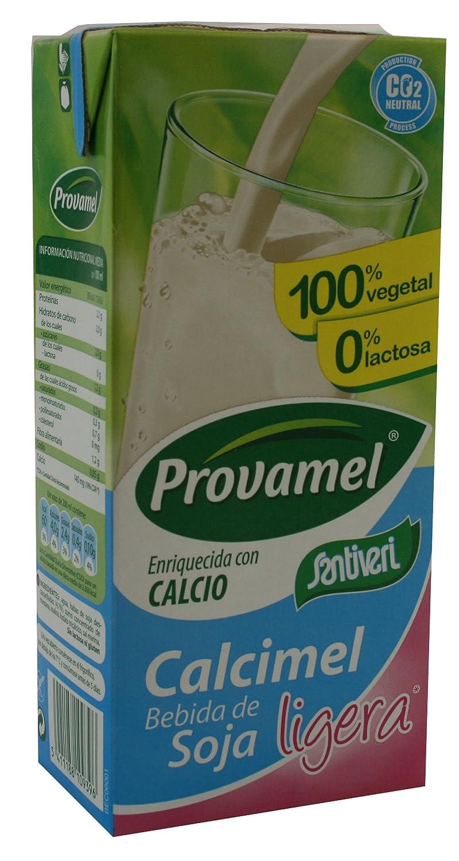 Amazon.com : SANTIVERI PROVAMEL LECHE DE SOJA LIGERA 1 LITRO : Grocery & Gourmet Food