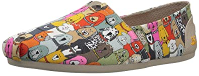 9bd8e98736f Skechers BOBS Women s Plush-Wag Party Ballet Flat Multi 5 ...
