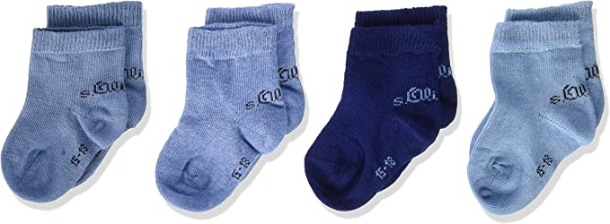 s.Oliver Socks Calcetines (Pack de 8) Unisex bebé: Amazon.es: Ropa ...