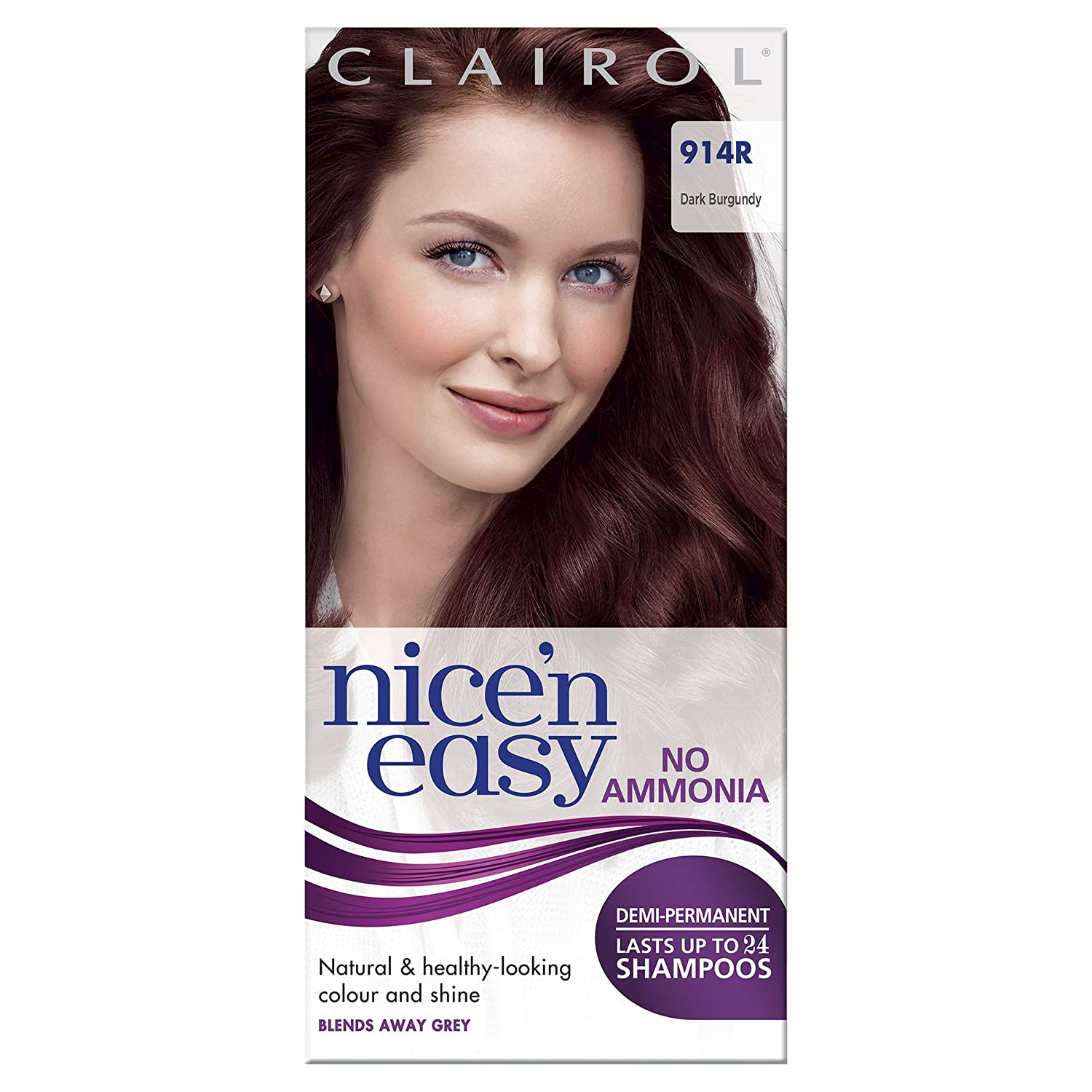 Clairol Nice'n Easy Semi-Permanent Hair Dye No Ammonia 77 Medium Ash Brown Coty 100687196