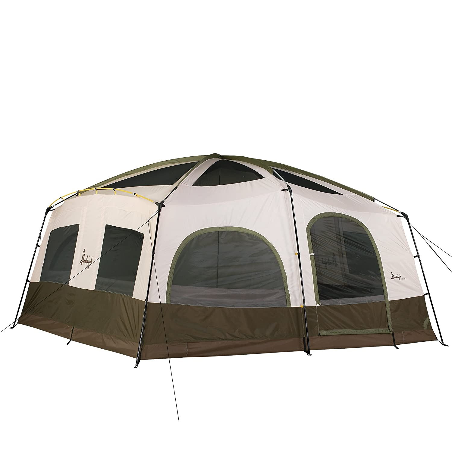 Amazon.com  Slumberjack Grand Lodge 12-Person Tent  Family Tents  Sports u0026 Outdoors  sc 1 st  Amazon.com & Amazon.com : Slumberjack Grand Lodge 12-Person Tent : Family Tents ...