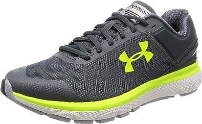 Under Armour Charged Europa 2, Zapatillas de Running para Hombre, Gris (Pitch Gray/High-Vis Yellow/High-Vis Yellow (102) 102), 40 EU: Amazon.es: Zapatos y complementos