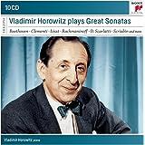 Vladimir Horowitz plays Great Sonatas (Coffret 10 CD)