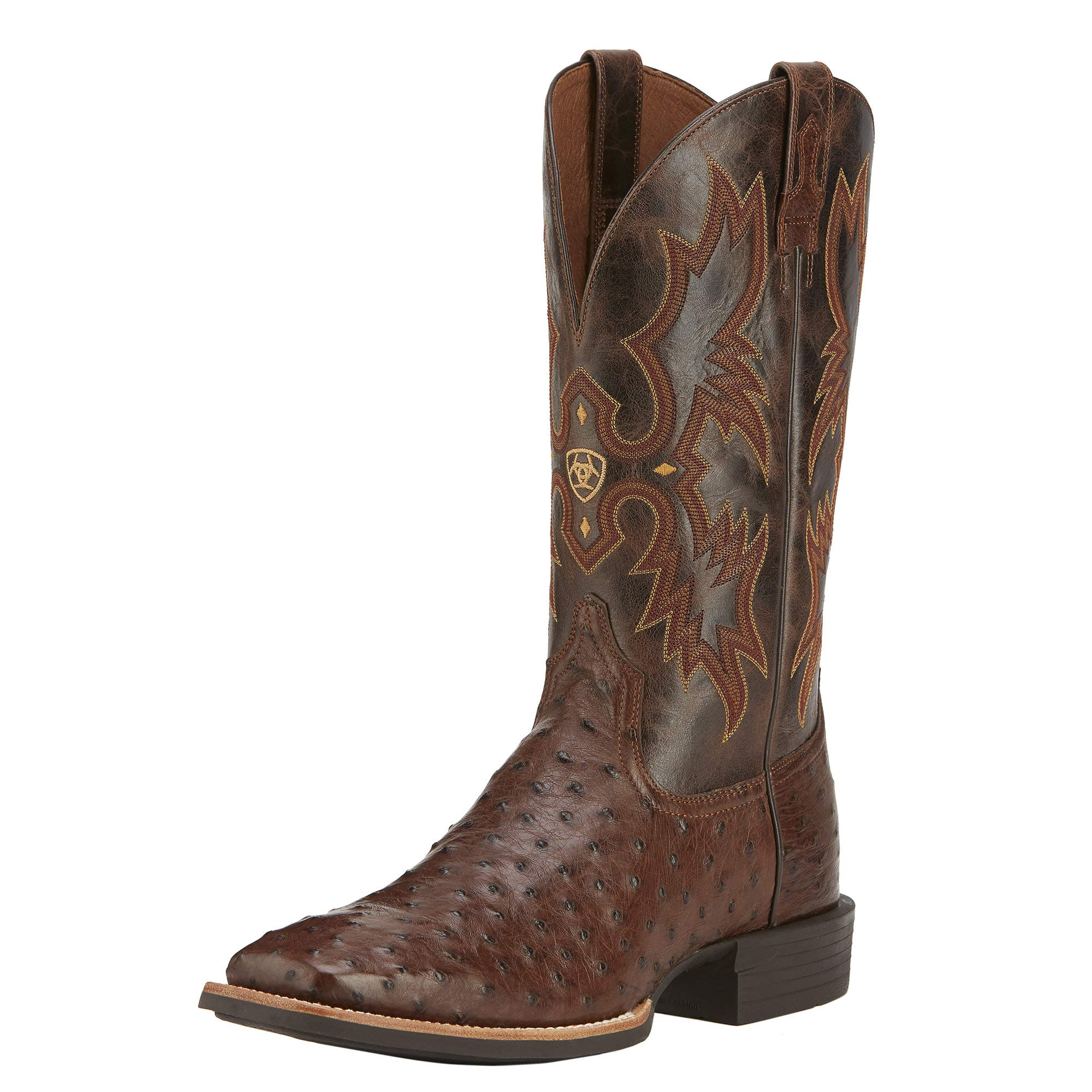 Ariat Men's Quantum Classic Western Cowboy Boot, Antique Tabaco Full-Quill, 8 D US by ARIAT