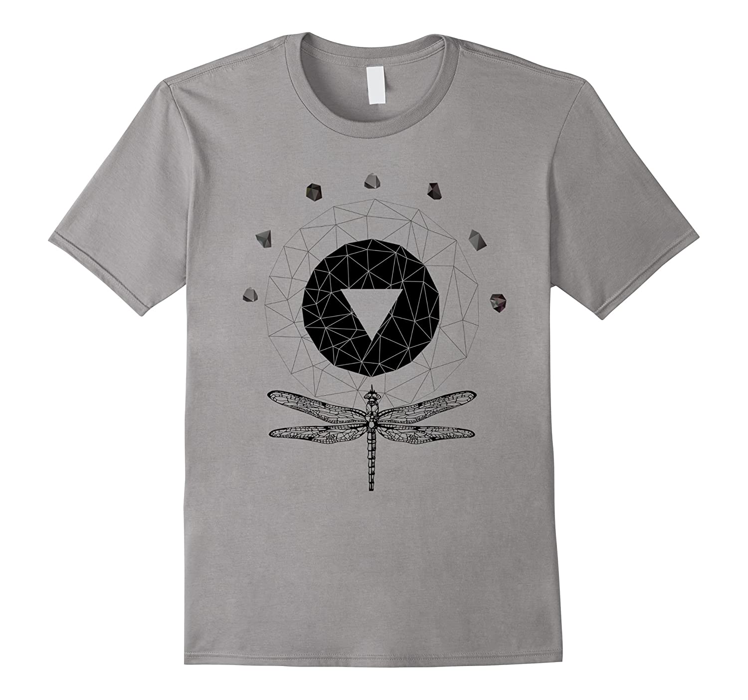Abstract Gothic Sacred Geometry T-Shirt-Art