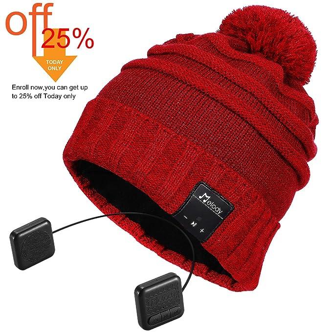7e400de0a70 Amazon.com  Bluetooth Beanie Hat