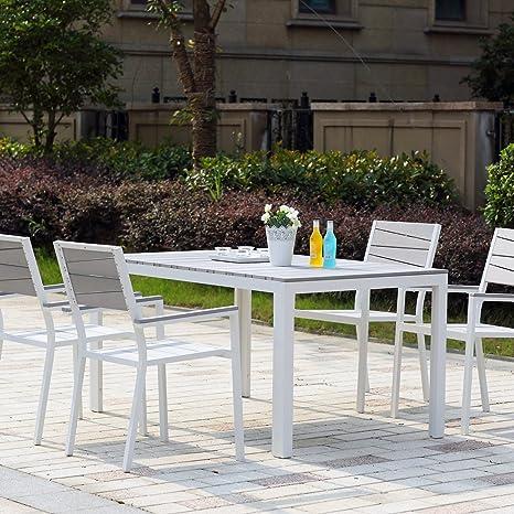 Concept-Usine Siderno 4 : Salon de jardin en aluminium et ...